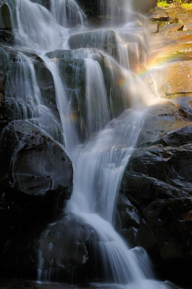 Ramsey Cascades & Rainbow