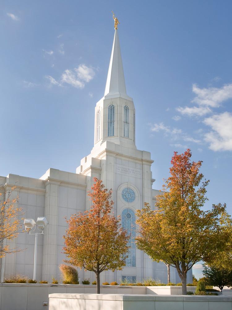St. Louis Temple - Autumn Trees