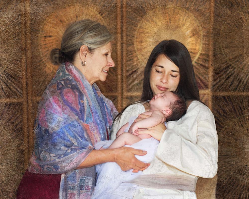 Hebrew Midwife Art | Mandy Jane Williams Art