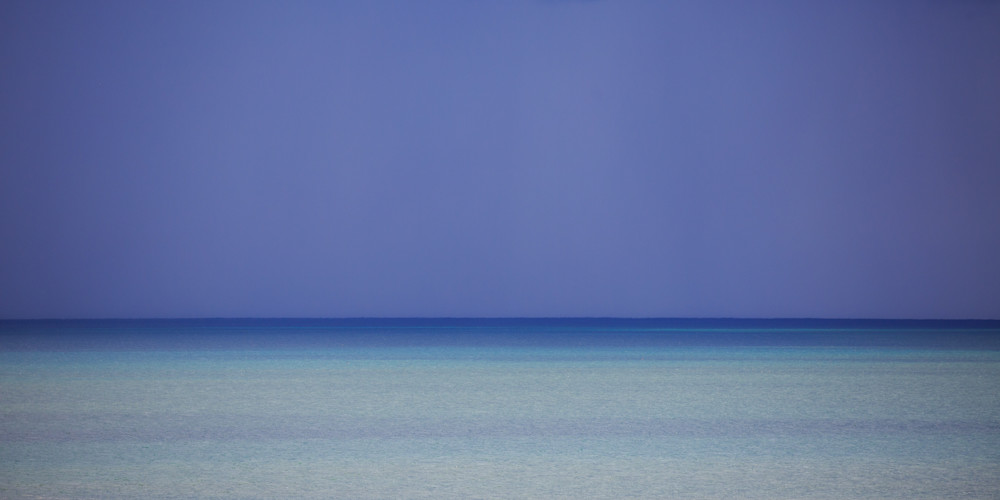 Ocean Blues Print