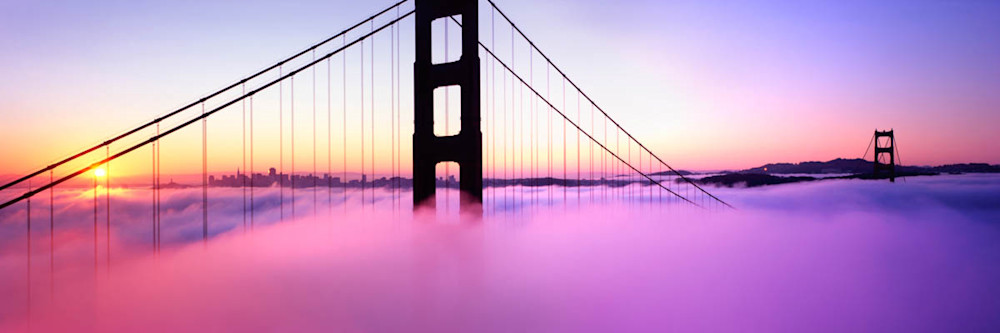 M 00215 Golden Gate at Sunrise