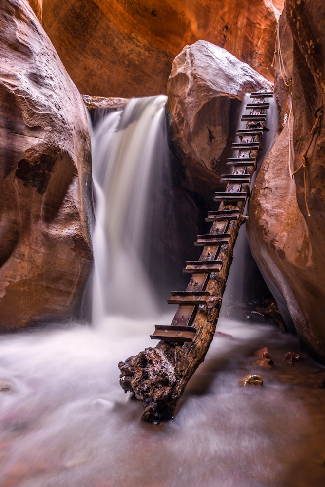 'Ladders & Falls' Photograph by Jess Santos for sale as Fine Art