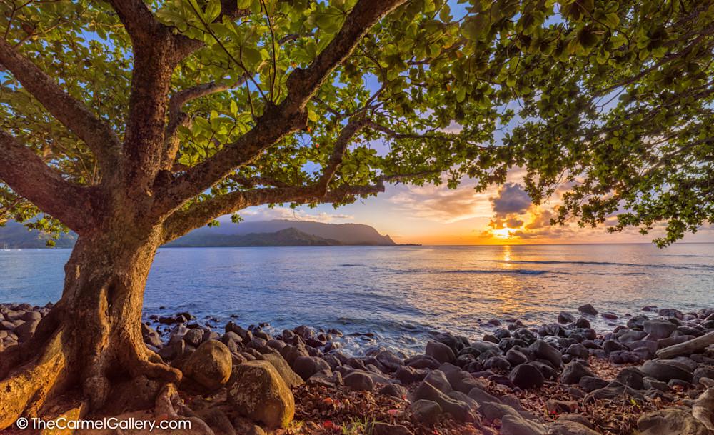 Puu Poa Sunset Photo