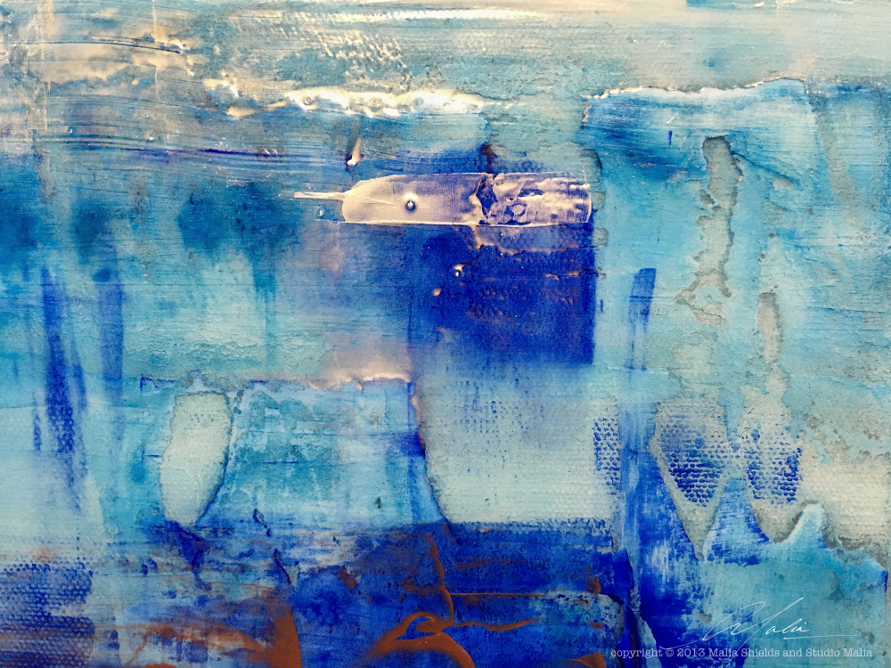 The Blues series 1/5 art reproduction original painting art giclee contemporary abstract