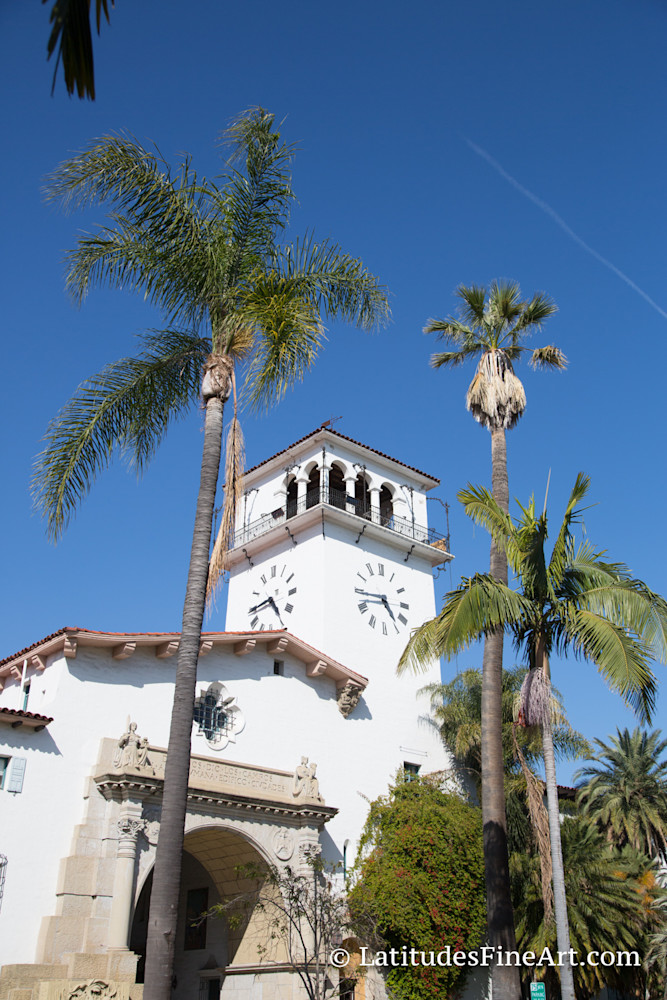 Santa Barbara Courthouse 4775