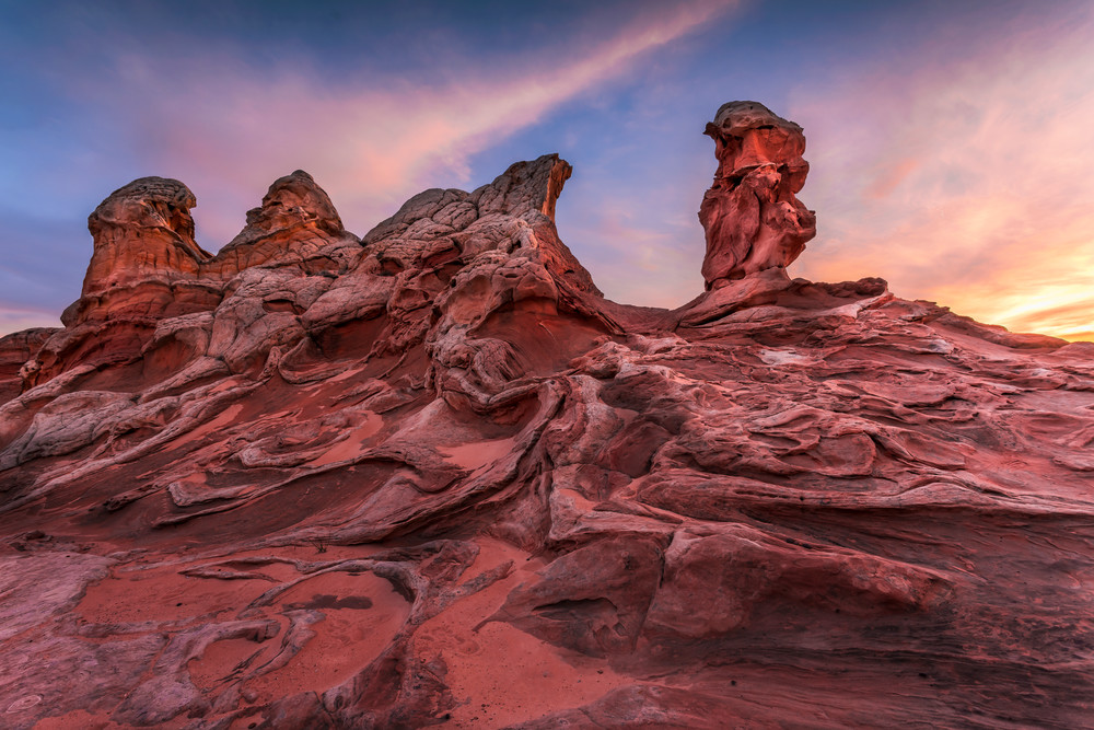 Sandstone Statues