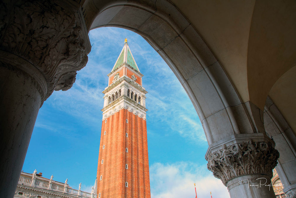 St. Mark's Clocktower Art | Tony Pagliaro Gallery