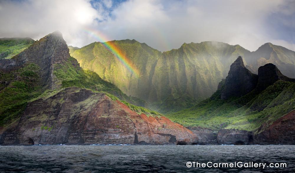 Hanakoa Valley, Napali Coast, Kauai, Kauai Rainbow