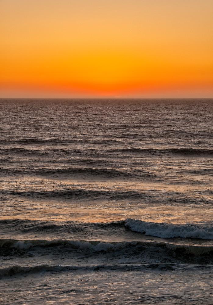 Last Light Over the Ocean photograph by Richard Stefani