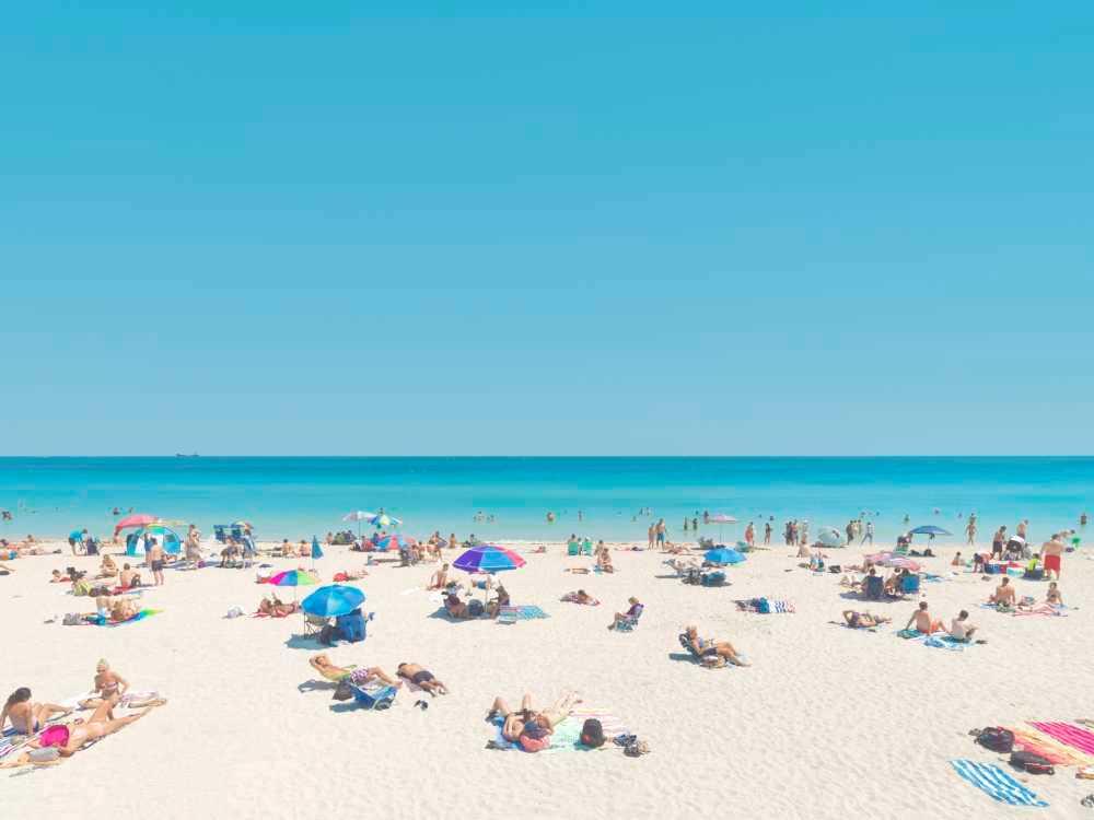 Beach Day Photography Art | DE LA Gallery