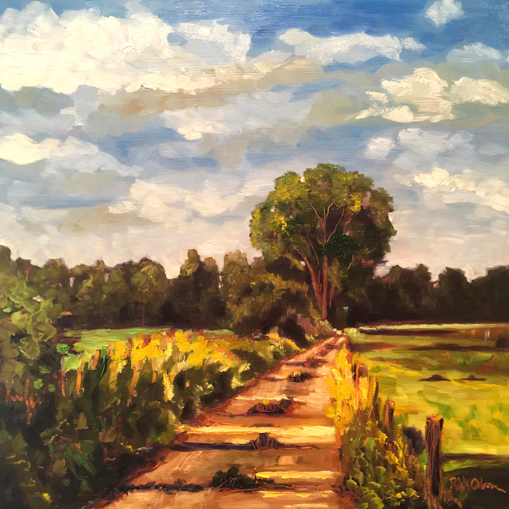 Morning Walk by Rick Osborn