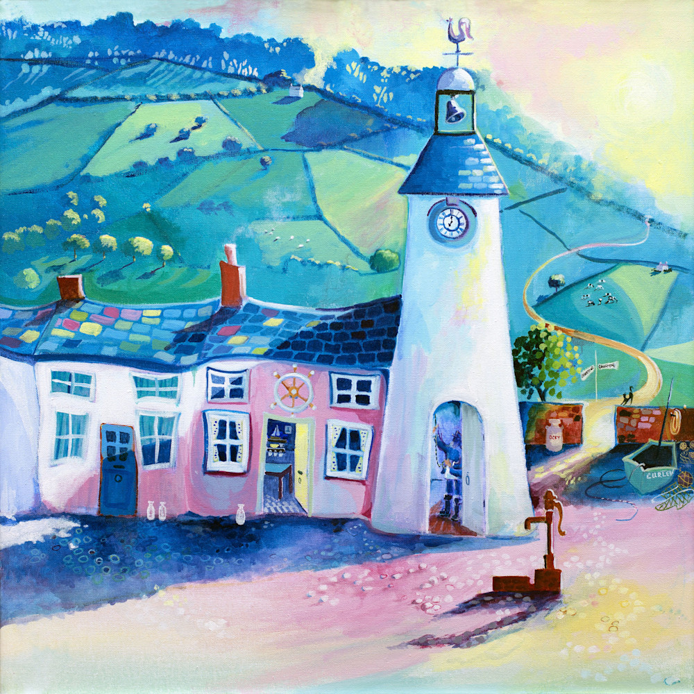 Llareggub Under Milk Wood Fine Art Print