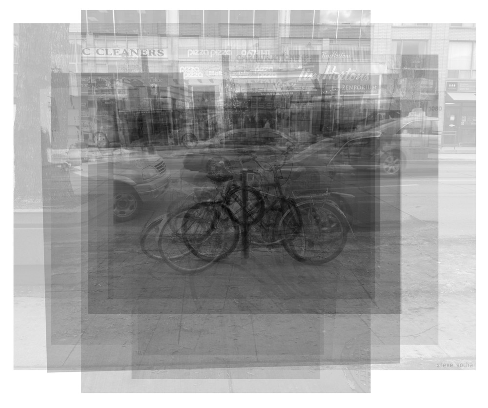 Overlay art – fine art prints of the Toronto Bike Ring