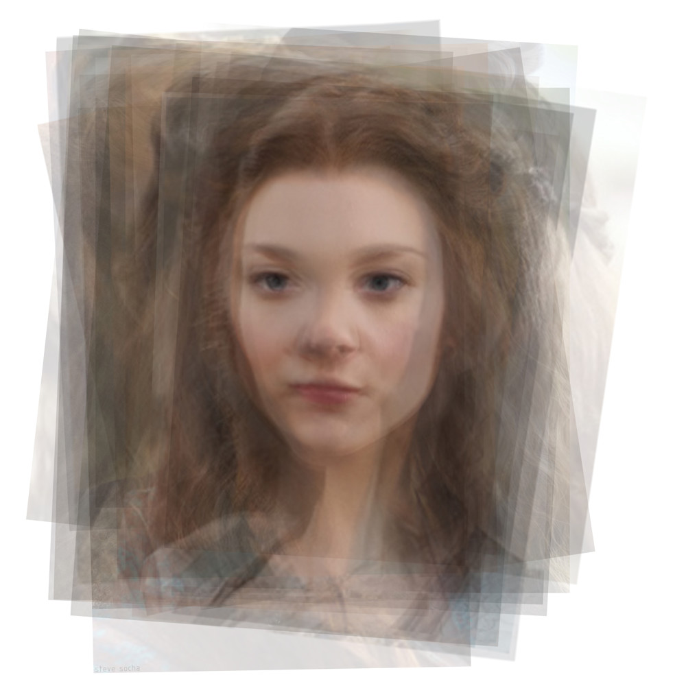 Overlay art – contemporary fine art prints of Margaery Tyrell from Game of Thrones