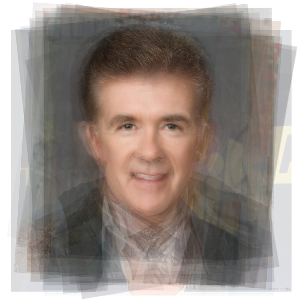 Overlay art – contemporary fine art prints of Alan Thicke
