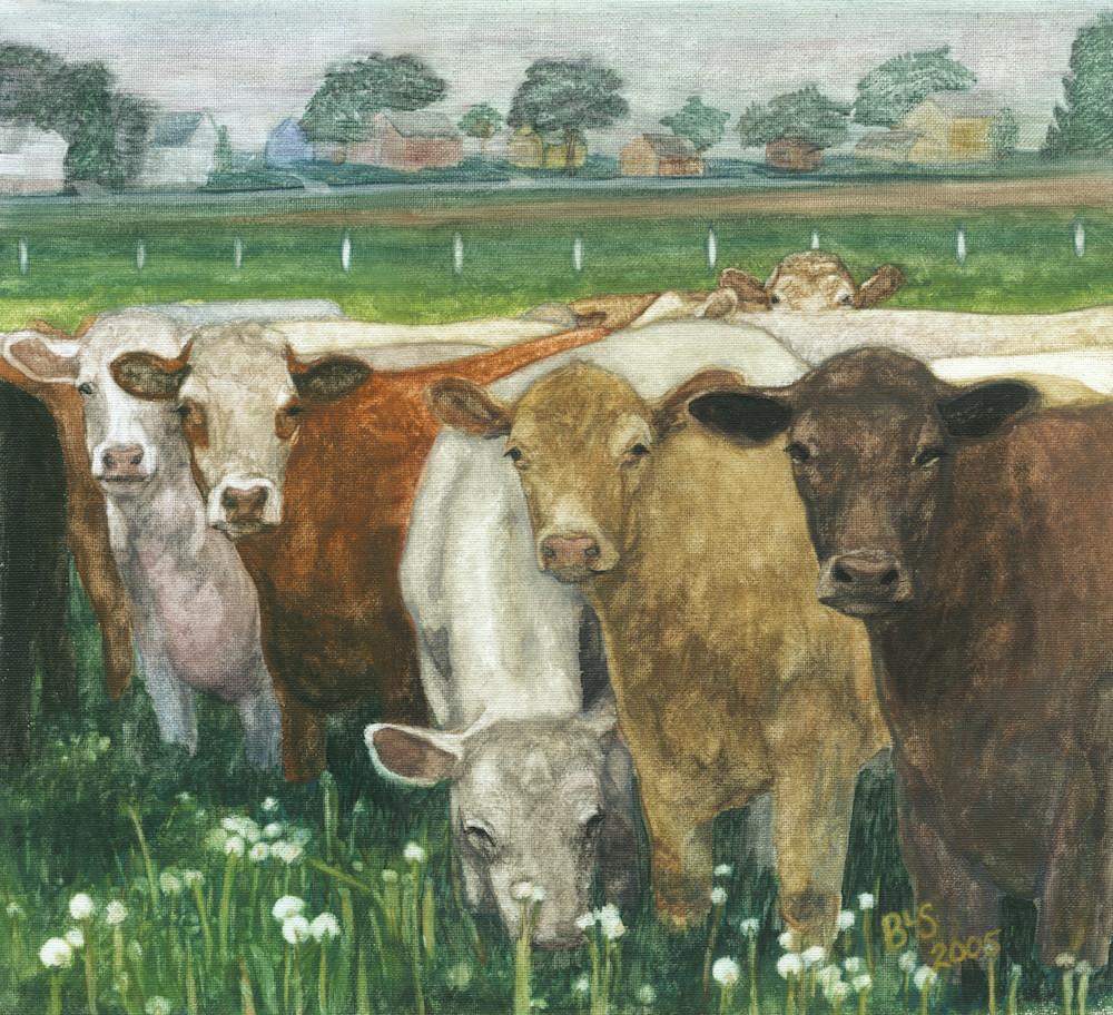 Cow Not Interested Art | Blissful Bonita Art Studio & Gallery