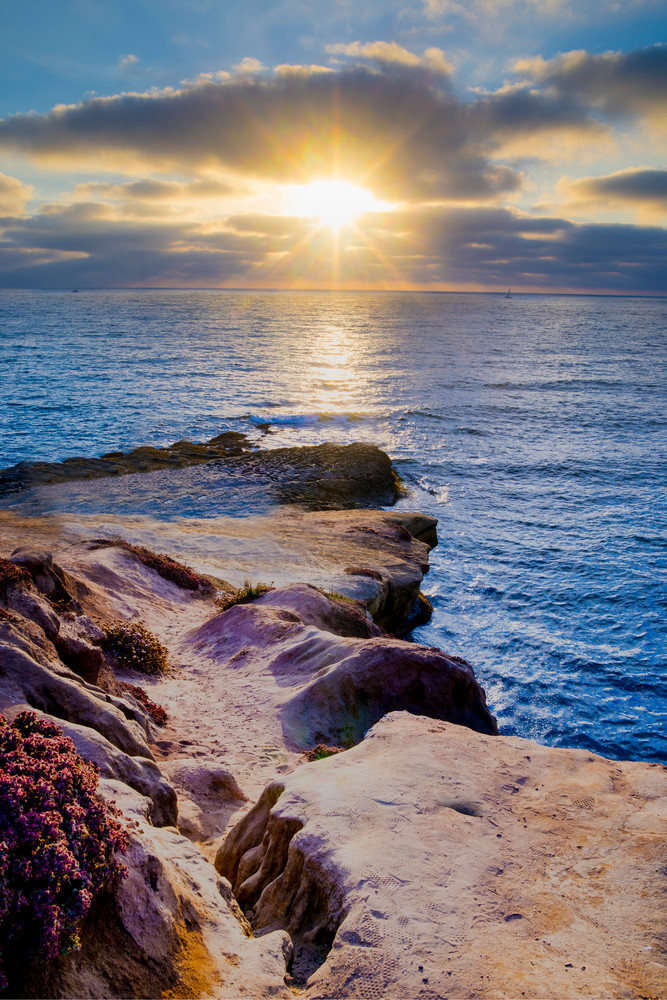 Sunset Cliff Photography Art   Foretography