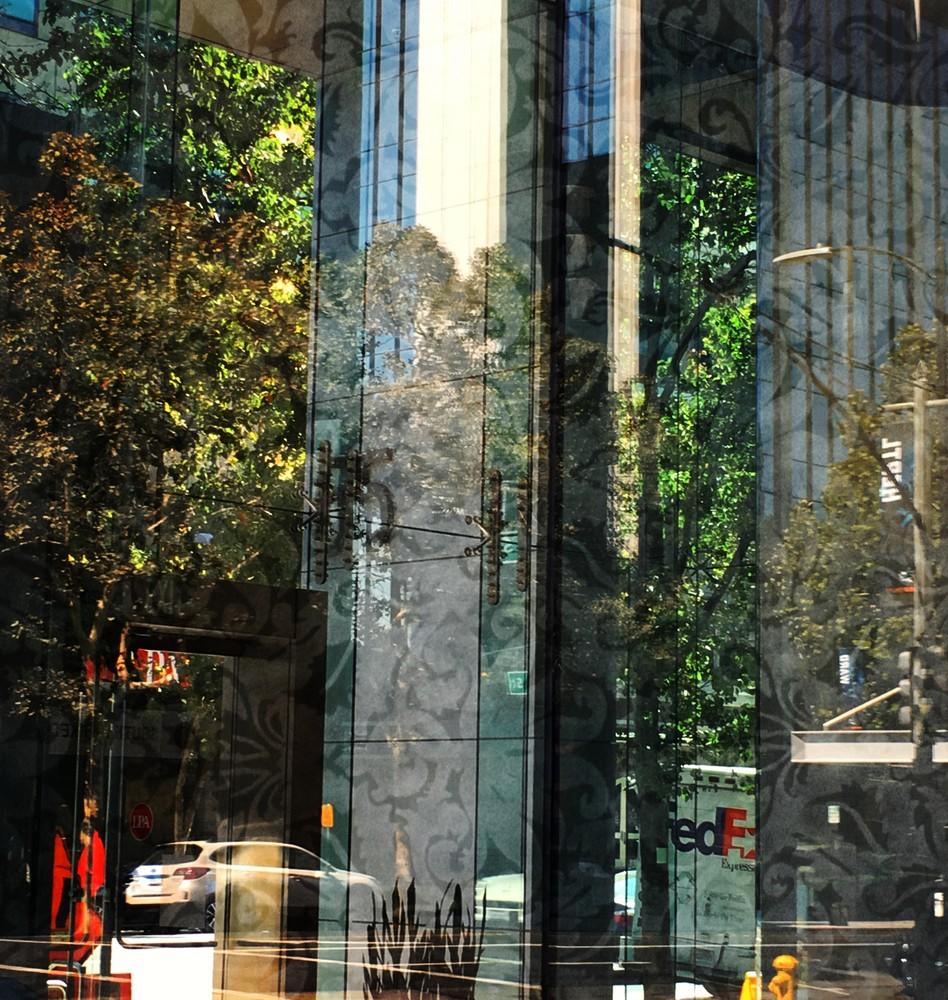 Transparent Abstract Photo For Sale. Richard Carlton London