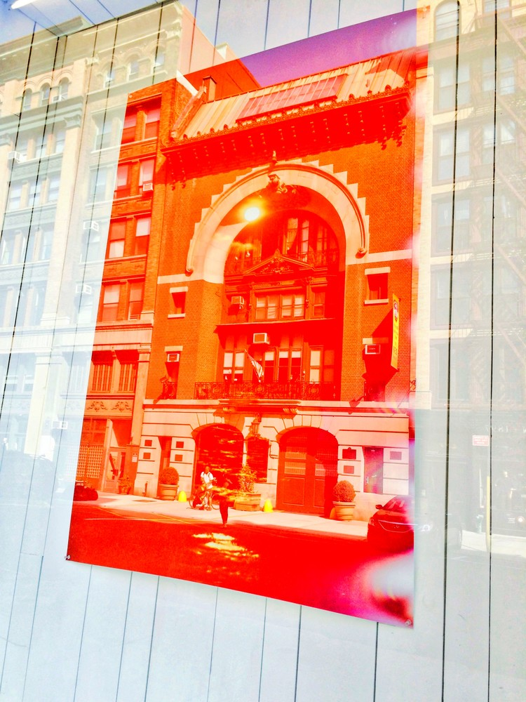 Cool Manhattan Firehouse Photo for Sale. Richard London