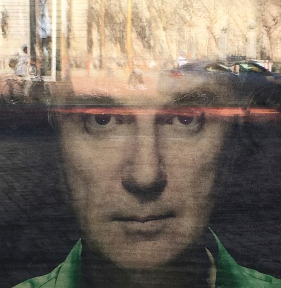 David Byrne Thinks Photo for Sale! Richard London
