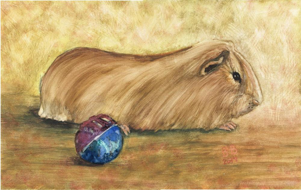 Guniea Pig Art   Blissful Bonita Art Studio & Gallery