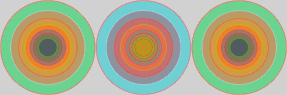 Orbital, What We Did on Sunny Days by Southern California artist Paul Westacott