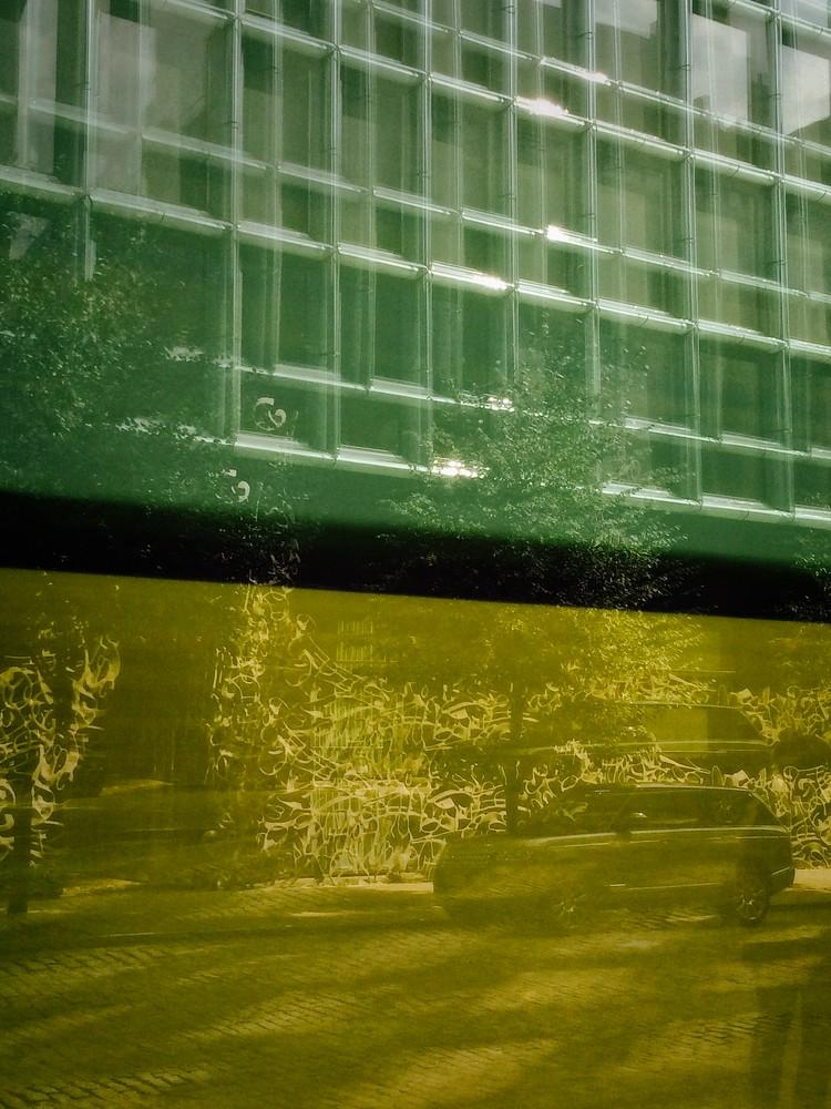 Rothko Like Art Photograph Manhattan.