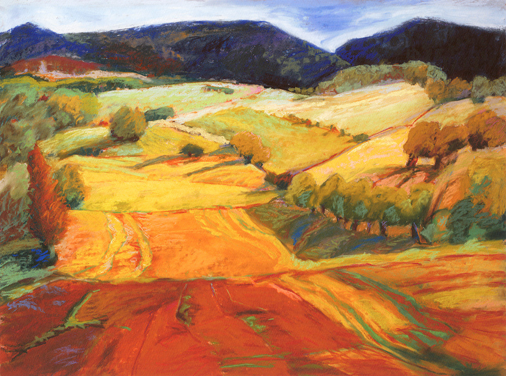 Looking West To Hondo Art | Fine Art New Mexico