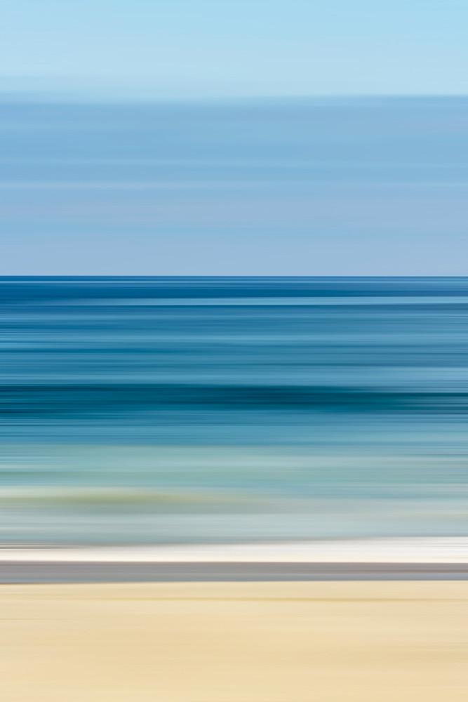'Blue Blurs' Photograph by Jennifer Herron for sale as Fine Art