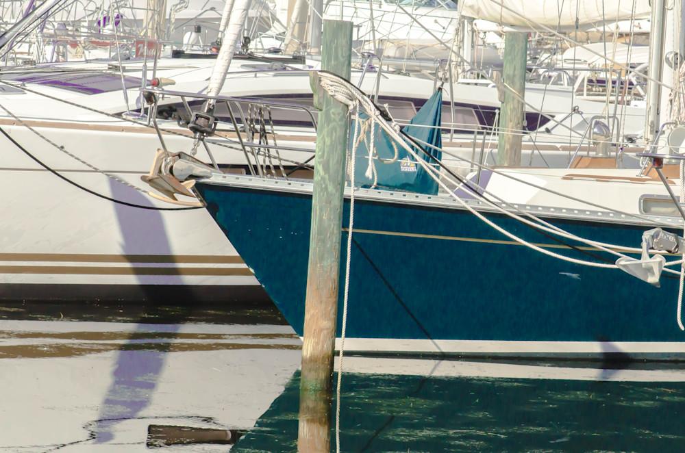 Sail boats docked at the marina photography.