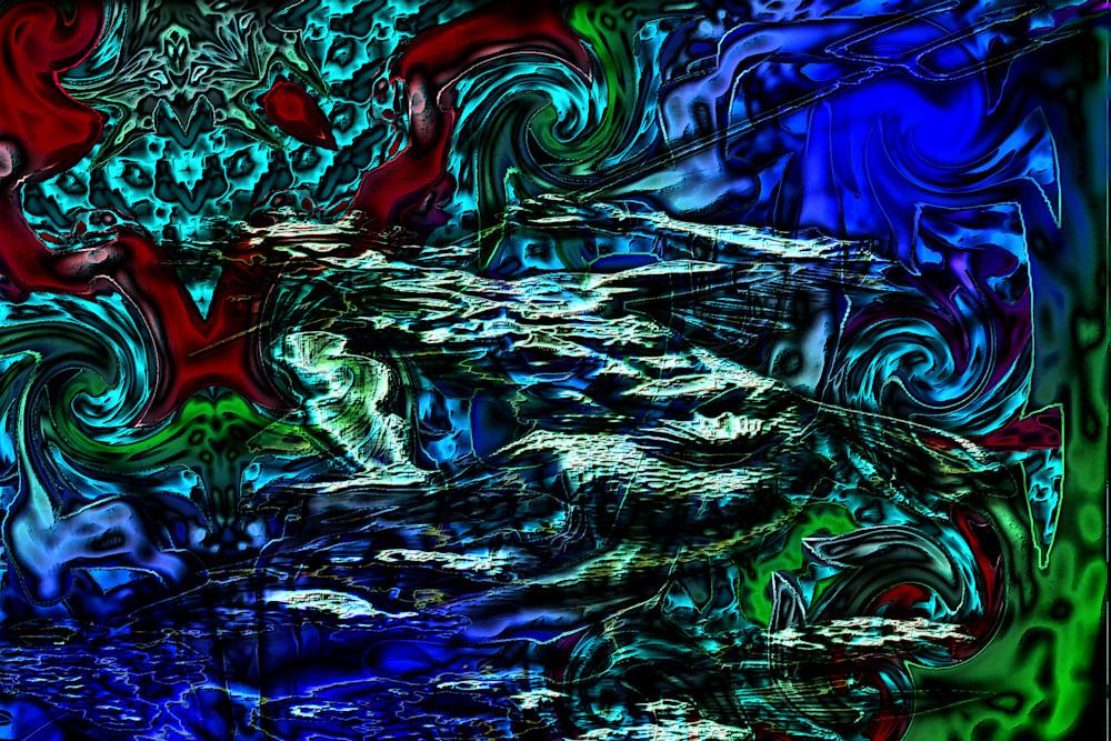 Poseidon calling the Vanguard | Mark Humes Gallery