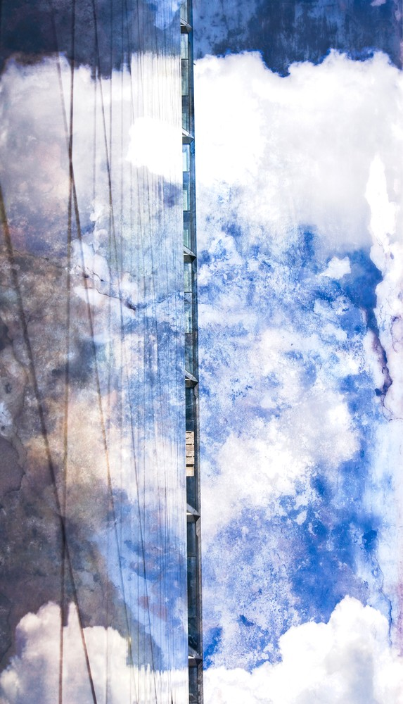 Beautiful Abstract Art Photograph Center City For Sale. Richard London