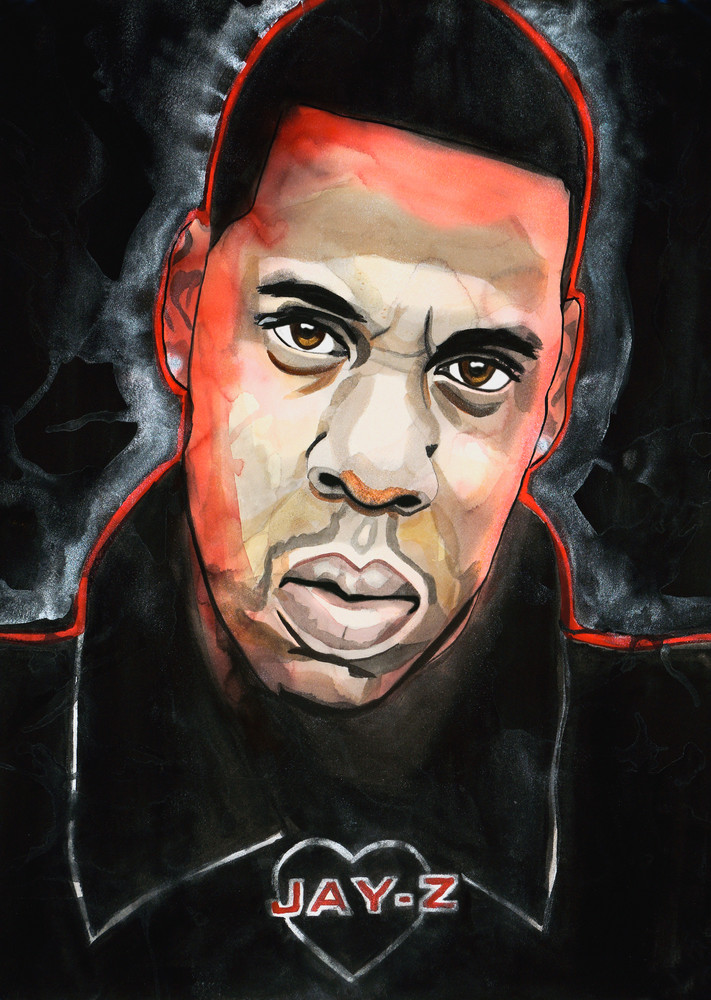 Jay Z Art | William K. Stidham - heART Art