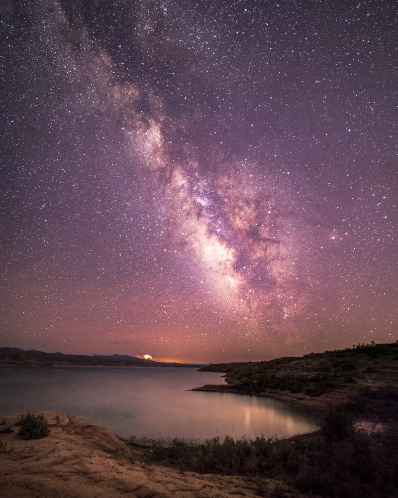 Milky Way Over Lake Mead