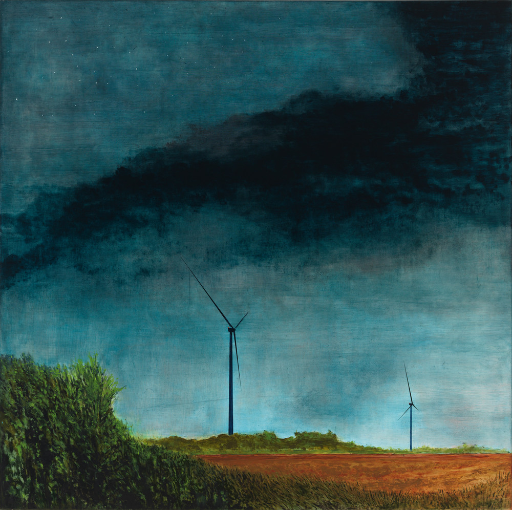 landscape-art, wind farm-art, wind turbine-art