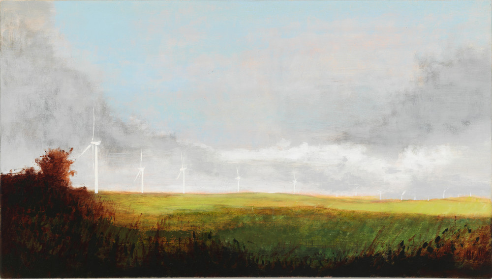 landscape-art, wind farm-art, wind turbine-art
