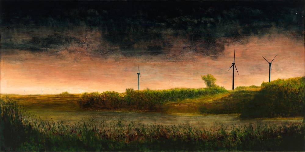 landscape-art, wind-art, wind farm-art, wind turbine-art