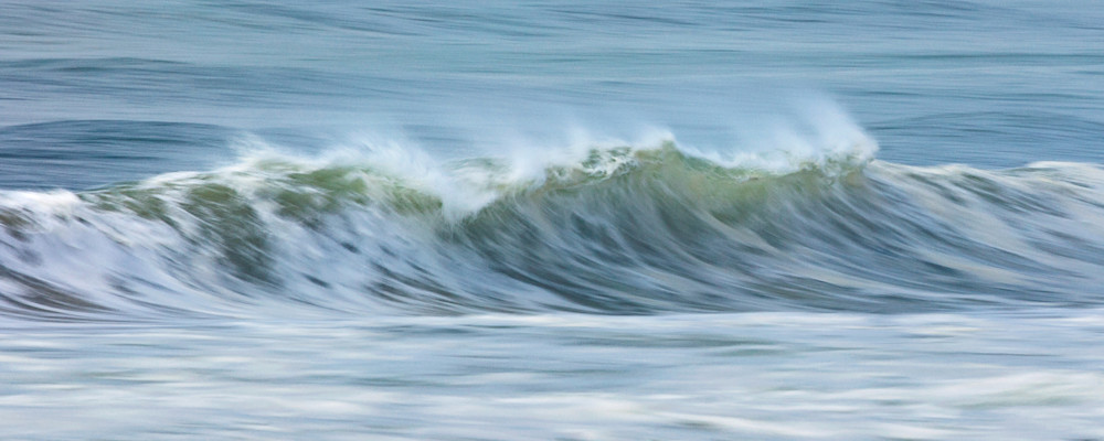 """Cisco Beach Wave Crash"" Nantucket Abstract Ocean Photography"
