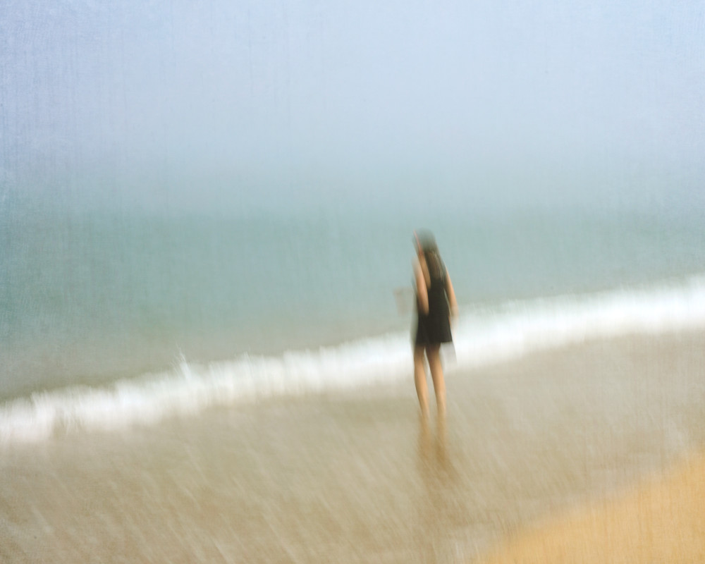 """Jenn at Great Point"" Nantucket Abstract Beach Photograph"