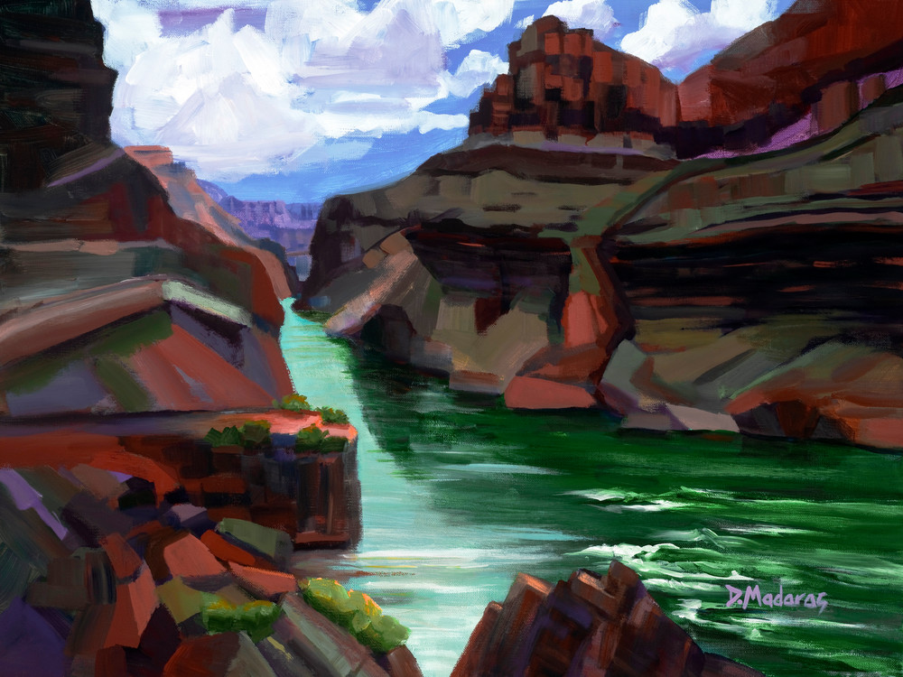 Trip Down the Grand Canyon | Southwest Art Gallery Tucson