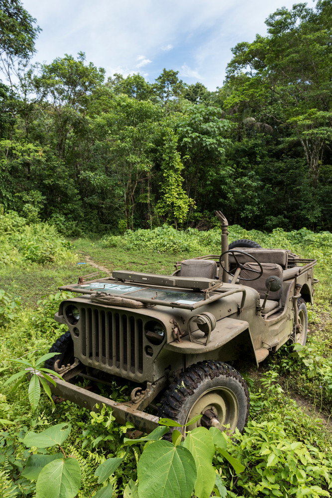 1942 Jeep Willy Solomon Islands