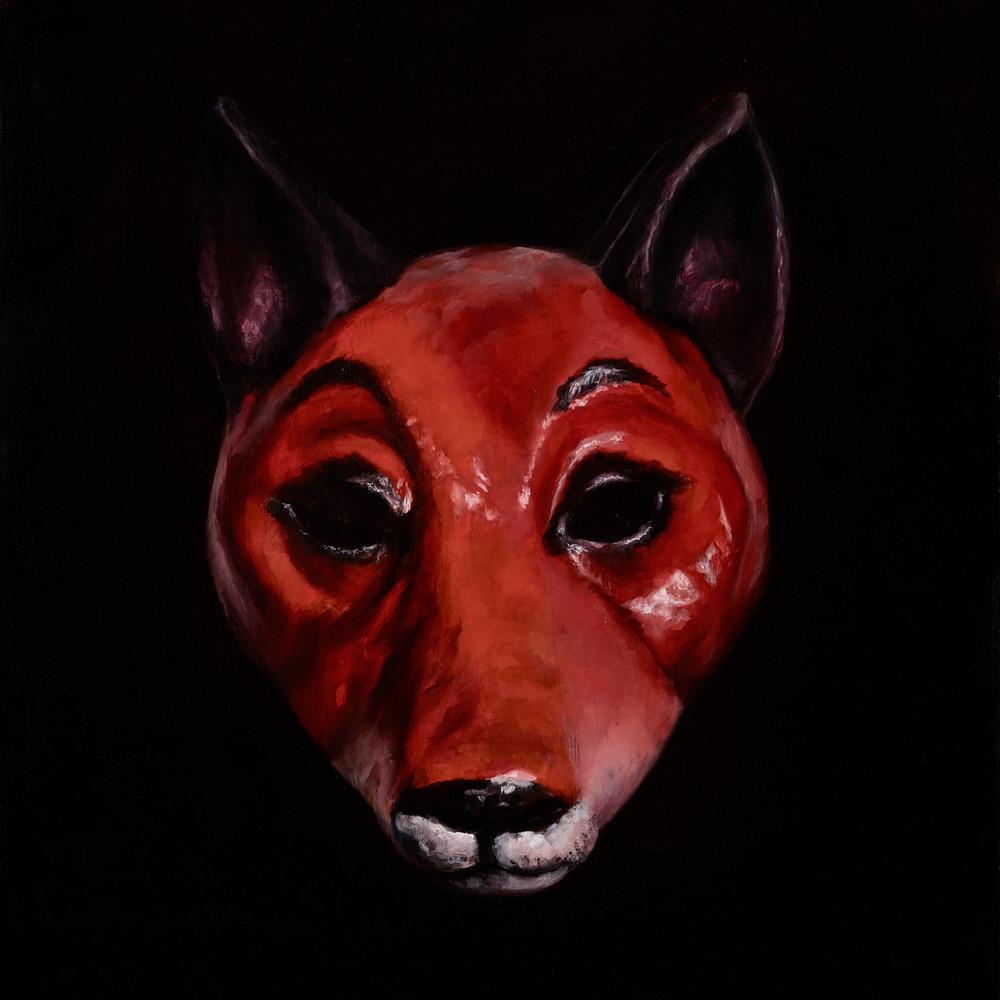 Fox Mask   Custom Size Print Art | Bottinelli Fine Art