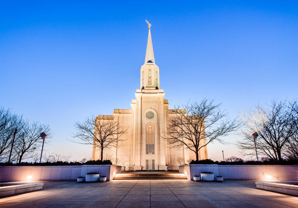 St Louis Temple - Front Horizontal