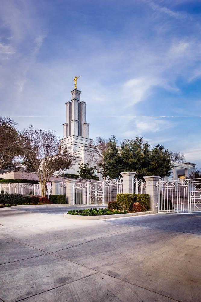 San Antonio Temple - From the Gates