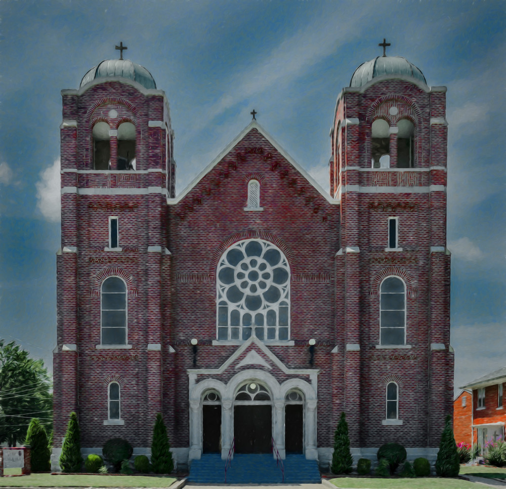 Catholic church in Clay Center, KS