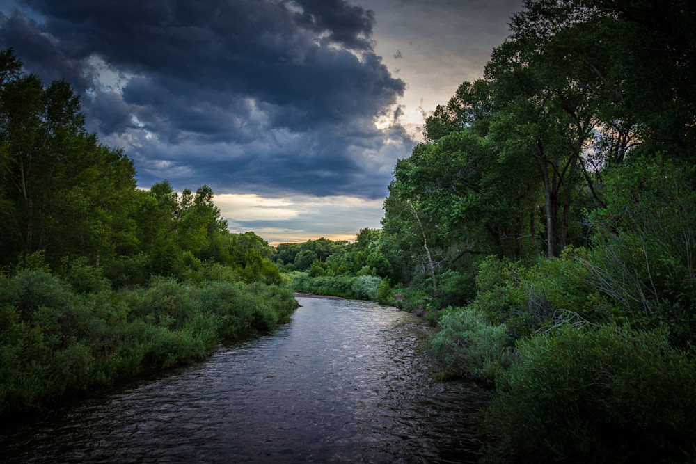 photography, landscape, colorado, Conejos River, Summer
