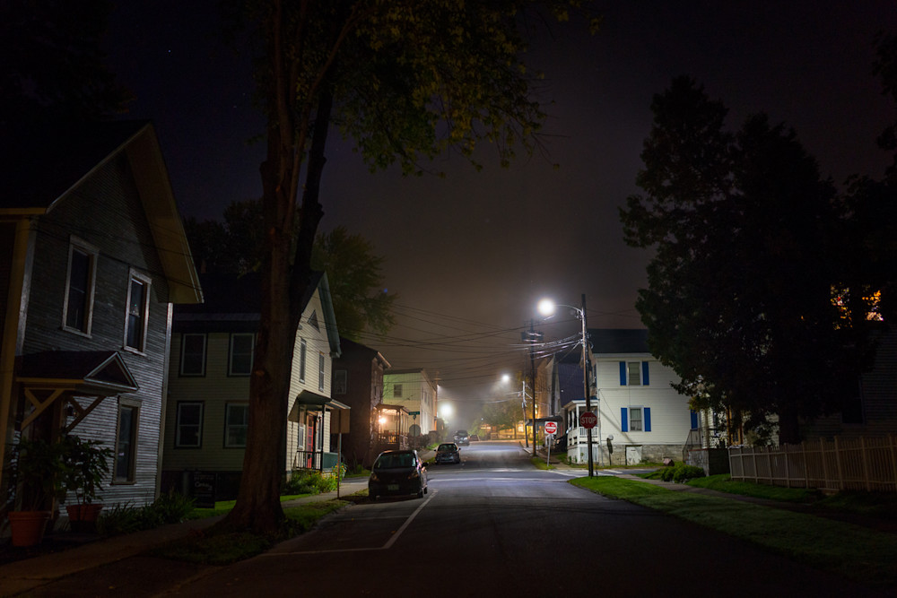 Photography, Vermont, nocturne, nightscape, New England,