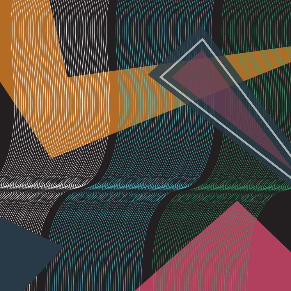 sound wave, vortex, wall art, art, graphic design