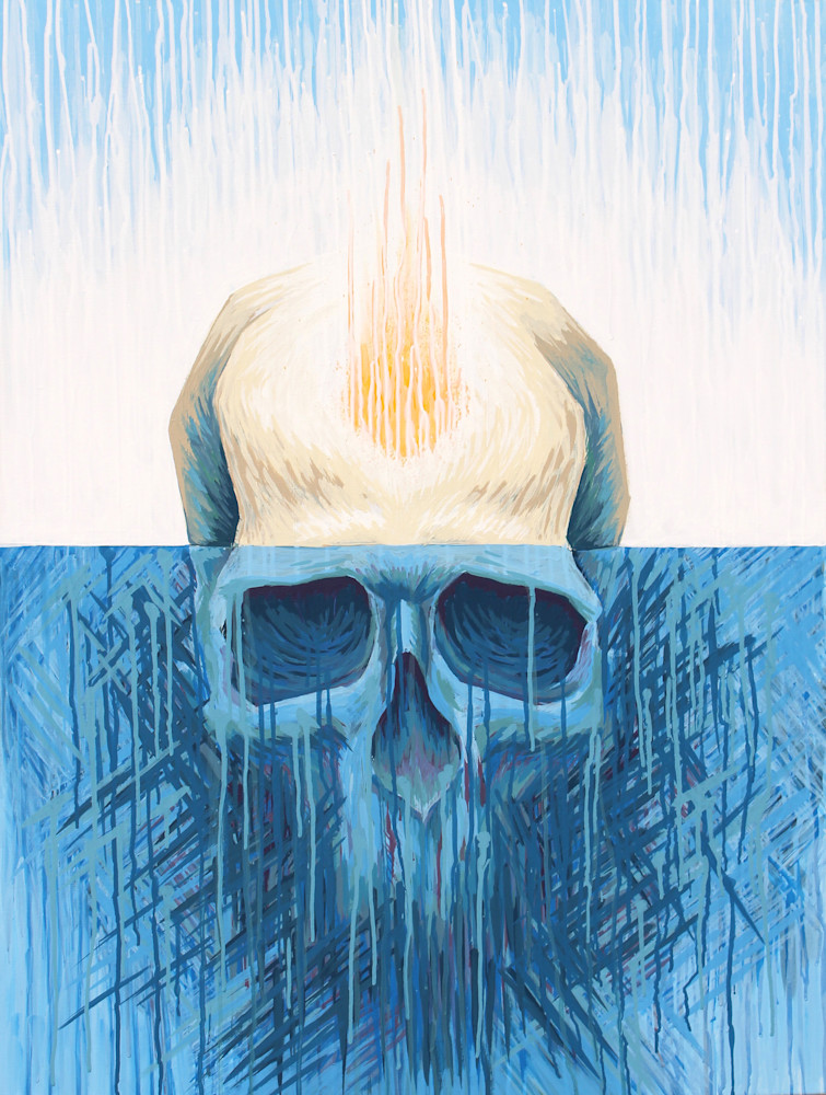 Within the Void - 'Heart & Skull' Art by Zak D. Parsons