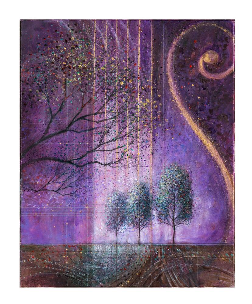 Landscape in Lavender